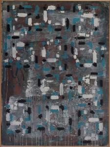 'Gaélic' -(130x97cm) óleo pigmento sobre lienzo-2013